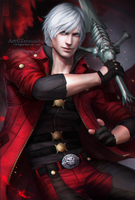 DANTE _ Rebellion by Zetsuai89