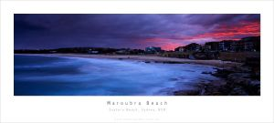 Maroubra Beach Sunset by MattLauder