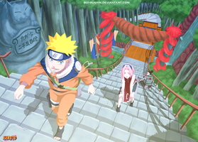 Naruto-Rise by MilarS