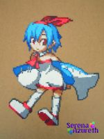 Pleinair Same-san BeadSprite by SerenaAzureth