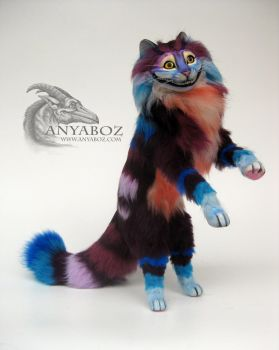 Chess the Cheshire Cat Room Guardian by AnyaBoz