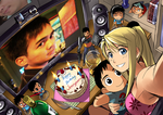 A Winry Birthday for Jennyson by mangaholix