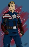 Captain America Design by stinson627