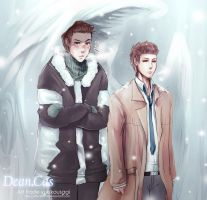 Art_trade_Dean_Cas by shikakashi