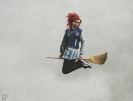 Quidditch player by Klaudiqa-scarry-doll