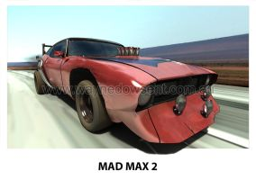 MAD MAX 2 BAT CAR by waynedowsent