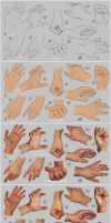 Hand study 2 - Steps by irysching