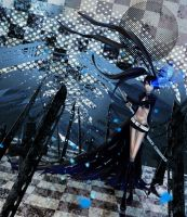 Black Rock Shooter by dog-food