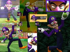 Waluigi wallpaper 2 by ShadowWaluigi1826