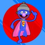 Super Grover by Sir-Heartsalot