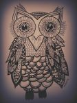 Owl (drawing) by toinfinity18