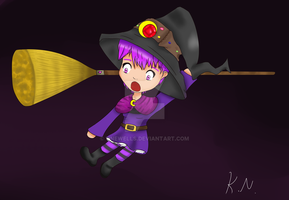 little witch slip by 11newells