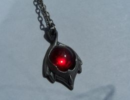 Blood stone - red glass by Hermit-stock