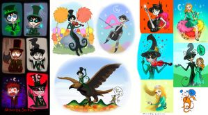 I just remembered these.... by Ceeli-chan