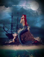 litlle mermaid by GregoryNicolas