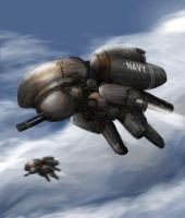 Gundrone by linetype