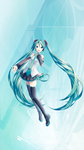 MIKUV3 01 iPhone6sp by Alphaziel
