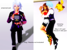 [MMD] Romantic Poses [DL] by Nintendraw