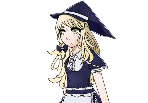 Marisa in Fates style (Kinda) by Acetheglaceon