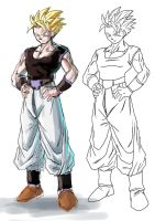 Fusion Character :Commish: by moxie2D