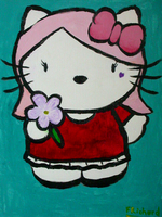 Hello Kitty by FRichard-peint