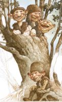 Unfinished - Goblin Tree by bridge-troll