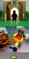 3D LEGO - Anaglyph by skcolb