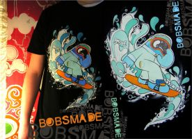 Bobsmade_tee-Snowboard by Bobsmade