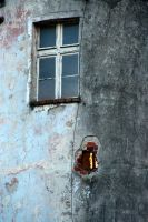 Window And Broken Wall by Shreever