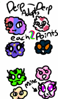 DERP DERP PUFF BALL.ADOPTS: :OPEN: by El3ctro-Mess