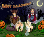 Halloween_2013_Haunted cemetery by mystic-touch