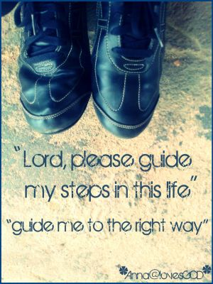 Lord, please guide my steps.. by MaryCreationss
