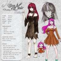 Cattleya - Character Card by Noire-Ighaan