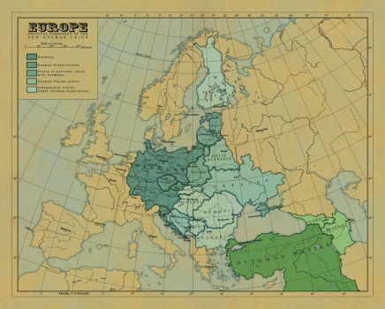 The New German Union by 1Blomma