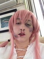 Yuno Gasai: my mommy beats me up by CosplayQueendom