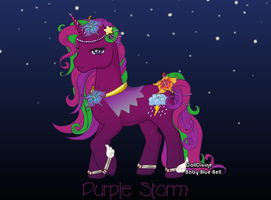 MLP Purple Storm by Gatekat