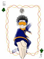 Obito Uchiha playing card by SakuraDreamerz2