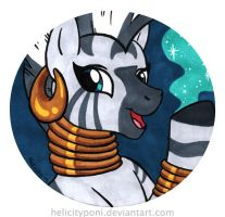 Zecora Magic by HelicityPoni