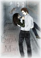Twilight: Bella and Edward by AnastasiaMantihora