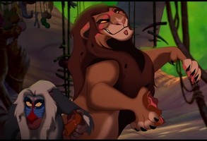 Fuvu and Katika~ The Shamans by EyesInTheDark666