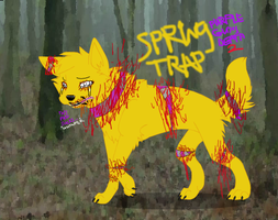 Spring trap purple guy s death scene by gravecrauler45 on deviantart