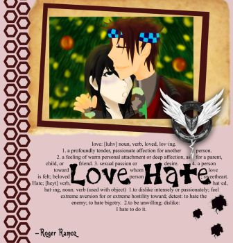 ::Love Hate:: Scrapbook by asoulforallanimes