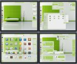 Gnome Shell ~ Panacea Green Suite 3.6 by Astral-1