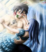 Gray x Juvia: Fairy Tail by maddendd