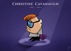 R.I.P. Christine Cavanaugh by JonnyBCartoonMan