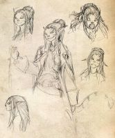 Shifter Sketches by JRinaldi