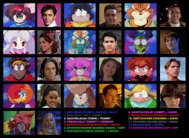 Power Rangers and Eto Rangers Counterparts by BlueWolfRanger95