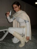 Ann Marie as Padme Amidala by PurpleElite