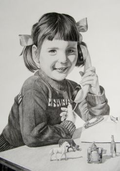 Drawing Mo with graphite by mo62