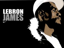 lebron james by jaymarific